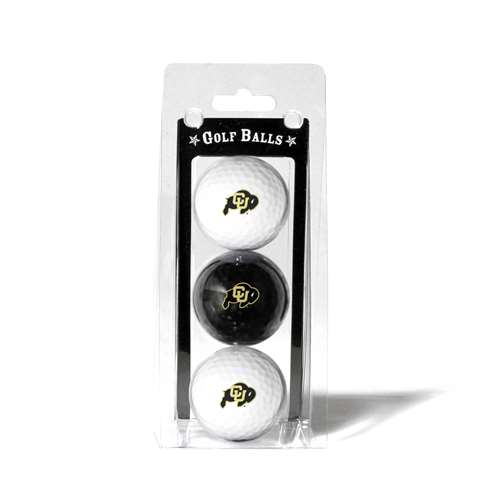 University of Colorado Buffaloes Golf 3 Ball Pack 25705