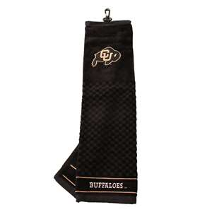 University of Colorado Buffaloes Golf Embroidered Towel 25710