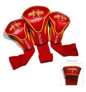 Iowa State University Cyclones Golf 3 Pack Contour Headcover 25994