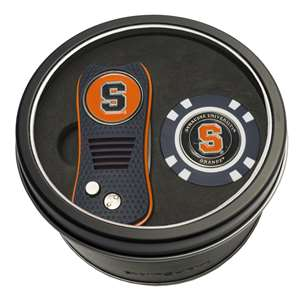 Syracuse Uninversity Orange Golf Tin Set - Switchblade, Golf Chip
