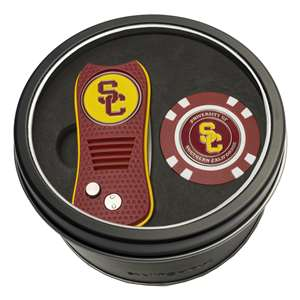 University of Southern California USC Trojans Golf Tin Set - Switchblade, Golf Chip