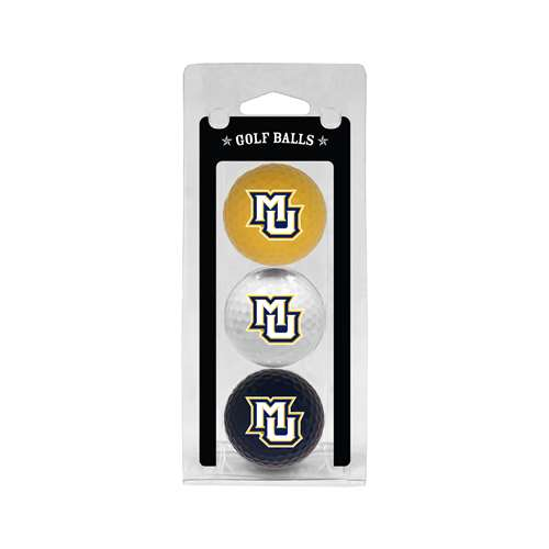 Marquette University Golden Eagles Golf 3 Ball Pack 28605