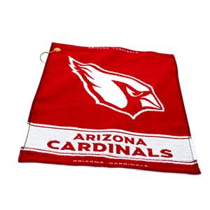 Arizona Cardinals  Jacquard Woven Golf Towel