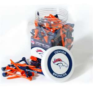 Denver Broncos Golf 175 Tee Jar 30851