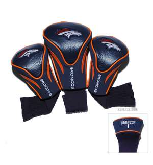 Denver Broncos Golf 3 Pack Contour Headcover 30894