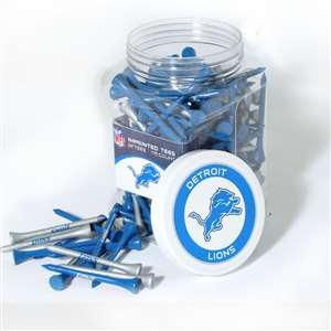 Detroit Lions Golf 175 Tee Jar 30951