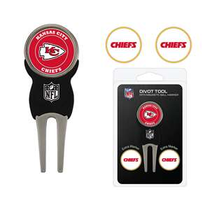 Kansas City Chiefs Golf Signature Divot Tool Pack  31445