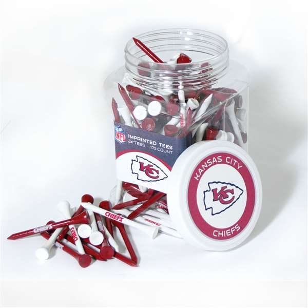 Kansas City Chiefs Golf 175 Tee Jar 31451