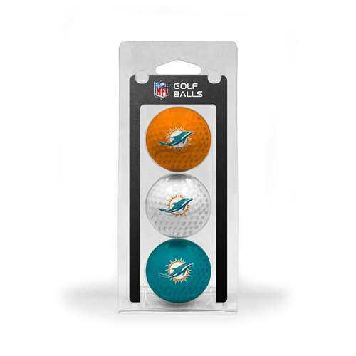 Miami Dolphins Golf 3 Ball Pack 31505