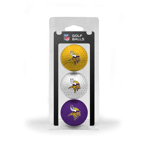 Minnesota Vikings Golf 3 Ball Pack 31605