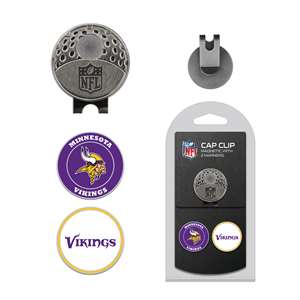 Minnesota Vikings Golf Cap Clip Pack 31647