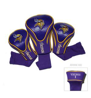 Minnesota Vikings Golf 3 Pack Contour Headcover 31694