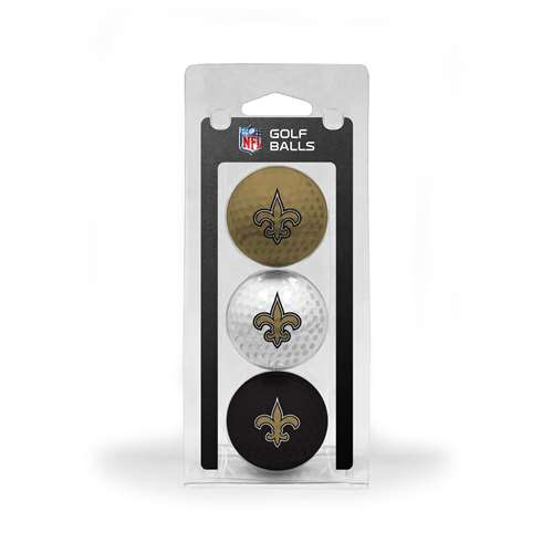 New Orleans Saints Golf 3 Ball Pack 31805