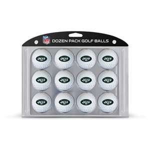 New York Jets Golf Dozen Ball Pack 32003