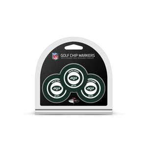 New York Jets Golf 3 Pack Golf Chip 32088