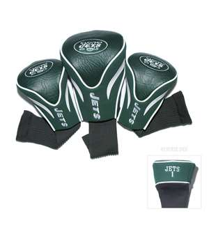 New York Jets Golf 3 Pack Contour Headcover 32094