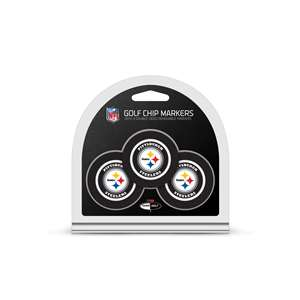 Pittsburgh Steelers Golf 3 Pack Golf Chip 32488
