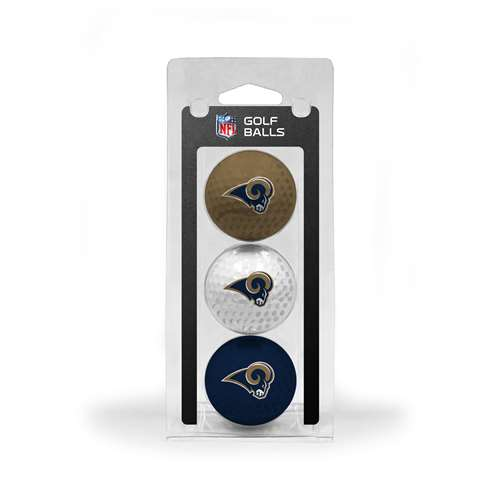 Los Angeles Rams Golf 3 Ball Pack 32505