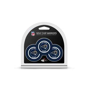 Los Angeles Rams Golf 3 Pack Golf Chip 32588