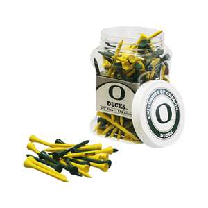 University of Oregon Ducks Golf 175 Tee Jar 44451