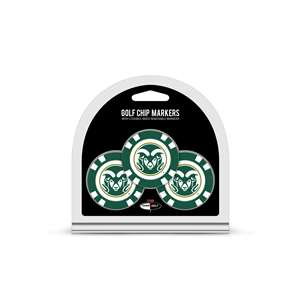 Colorado State University Rams Golf 3 Pack Golf Chip 44988