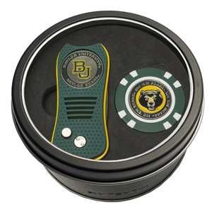 Baylor University Bears Golf Tin Set - Switchblade, Golf Chip
