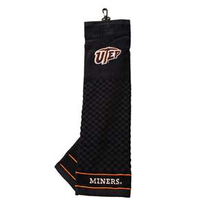 UTEP Miners Golf Embroidered Towel 79310