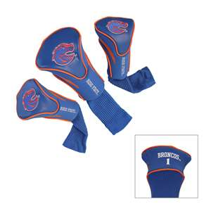 Boise State University Broncos Golf 3 Pack Contour Headcover