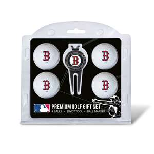 Boston Red Sox Golf 4 Ball Gift Set 95306