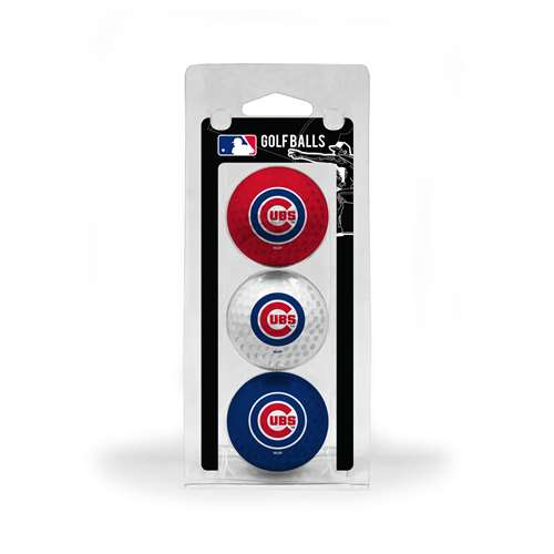 Chicago Cubs Golf 3 Ball Pack 95405