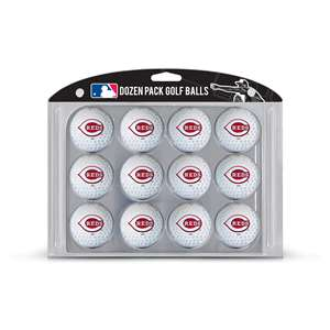 Cincinnati Reds Golf Dozen Ball Pack 95603