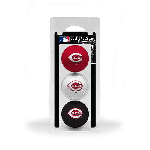 Cincinnati Reds Golf 3 Ball Pack 95605
