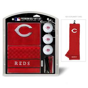 Cincinnati Reds Golf Embroidered Towel Gift Set 95620