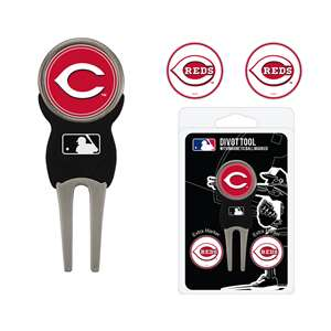 Cincinnati Reds Golf Signature Divot Tool Pack  95645