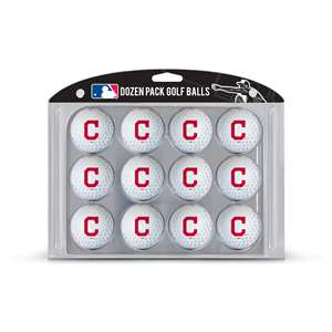 Cleveland Indians Golf Dozen Ball Pack 95703