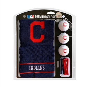 Cleveland Indians Golf Embroidered Towel Gift Set 95720