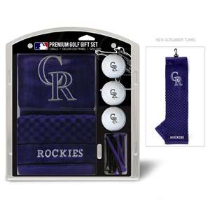 Colorado Rockies Golf Embroidered Towel Gift Set 95820