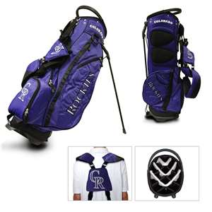 COLORADO ROCKIES Golf FAIRWAY STAND BAG