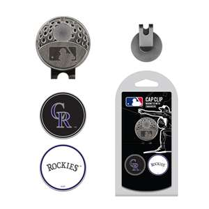 Colorado Rockies Golf Cap Clip Pack 95847