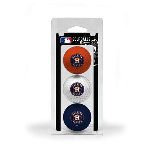 Houston Astros Golf 3 Ball Pack 96005