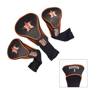 Houston Astros Golf 3 Pack Contour Headcover 96094