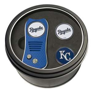 Kansas City Royals Golf Tin Set - Switchblade, 2 Markers 96159