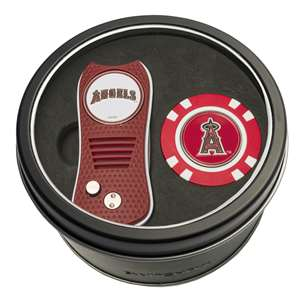 Los Angeles Angels Golf Tin Set - Switchblade, Golf Chip