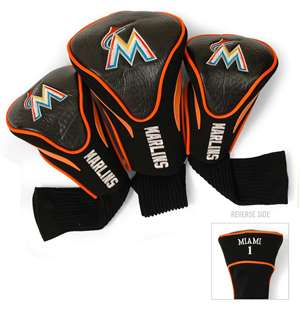 Miami Marlins Golf 3 Pack Contour Headcover 96494