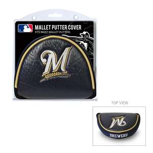 Milwaukee Brewers Golf Mallet Putter Cover 96531