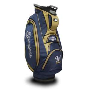 Milwaukee Brewers Golf Victory Cart Bag 96573