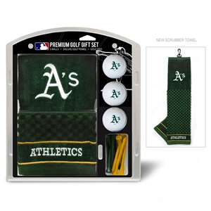 Oakland Athletics A's Golf Embroidered Towel Gift Set 96920
