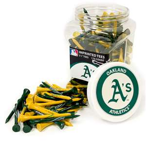 Oakland Athletics A's Golf 175 Tee Jar 96951