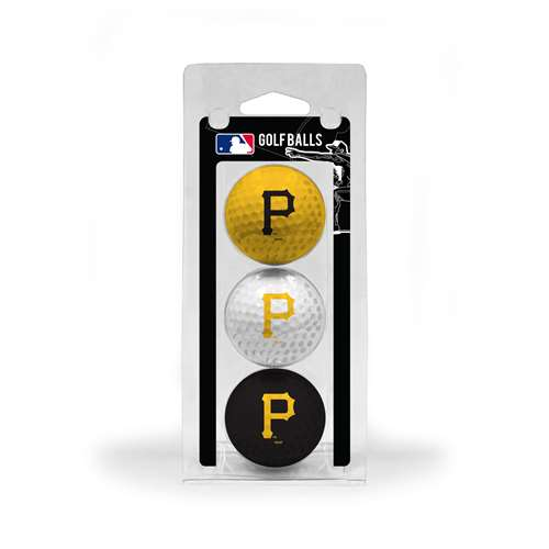 Pittsburgh Pirates Golf 3 Ball Pack 97105
