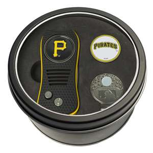 Pittsburgh Pirates Golf Tin Set - Switchblade, Cap Clip, Marker 97157